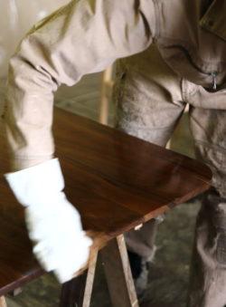 北海道の家具製作工場
